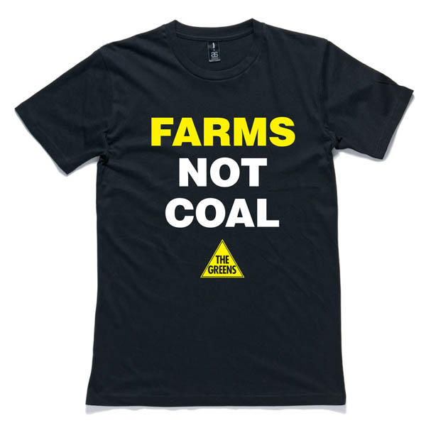 Farms Not Coal T-Shirt